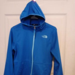 The North Face boys zip hoodie jacket L